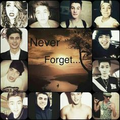 I will never forget you guys. I love you too much
