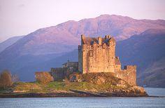 Eliean Donan. Escocia
