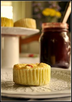 @dabblings and whimsey: #Baketogether: Rhubarb, Lime, and Ginger, Cornmeal muffins