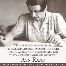 Image result for ayn rand objectivist images