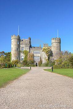 Malahide Castle In Dublin, Ireland © Pajda83
