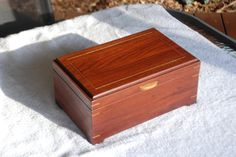 Jewellry Box by WoodWorkByBoyd on Etsy