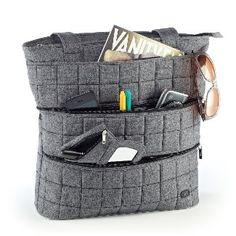 Lug bag....great storage, indestructible and like the styles. I LOVE this one.