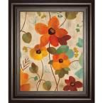 "22 in. x 26 in. ""Vibrant Embroidery Iii"" by Silvia Vassileva Framed Printed Wall Art"