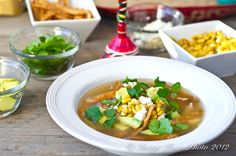Tortilla Soup from Bunkycooks