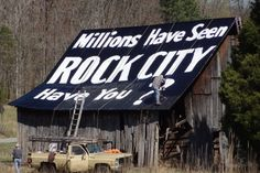 80 years of Rock City Signage..still going strong!