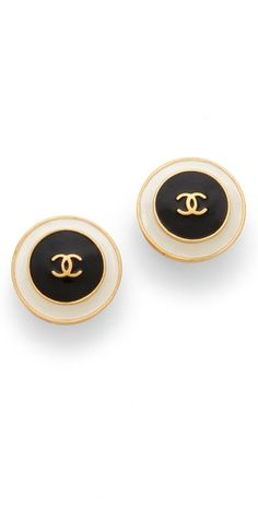 WGACA Vintage Vintage Chanel Earrings | SHOPBOP