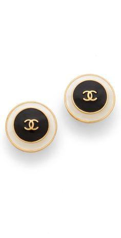 WGACA Vintage Vintage Chanel Earrings