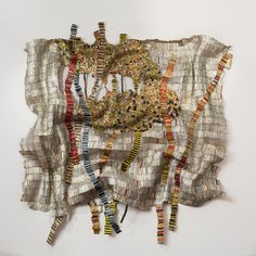 El Anatsui Strained Roots, 2014 Aluminium and copper wire October Gallery