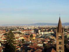 Turin view from Castello di Rivoli