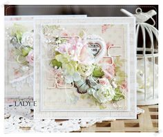 Wild Orchid Crafts: 2 Floral Muse Cards