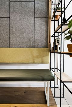 """4 Kitchen Design Ideas to Steal from a Sydney Cafe 4 Ideas I'm Stealing From This Sydney Café For My """"Someday"""" Kitchen Booth Seating, Banquette Seating, Commercial Design, Commercial Interiors, Interior Designers Sydney, Sydney Cafe, Acoustic Panels, Hospitality Design, Cafe Design"""