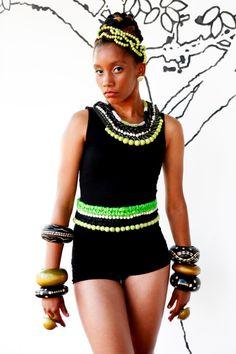Imvelo Eswatini 2 Showcase by Mustard Seed, Tankini, Belts, Africa, Necklaces, Swimwear, Fashion, Bathing Suits, Moda
