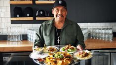 """If you've driven down La Brea Avenue near Olympic Boulevard over the past couple of weeks, you may have noticed a big sign for Trejo's Tacos, featuring the face of actor Danny Trejo, that cool guy from the """"Machete"""" movies and """"From Dusk Till Dawn."""""""
