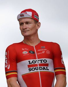 Andre Greipel of Germany riding for Lotto Soudal looks prior to stage 10 of the 2017 Le Tour de France a 178km stage from Perigueux to Bergerac on...
