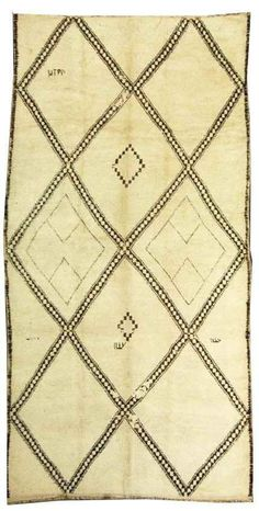 Beni Ourain rug from Morocco