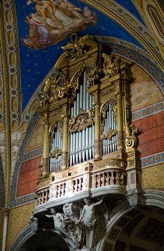 Roma Santa Maria sopra Minerva: Organ #TuscanyAgriturismoGiratola