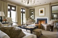 window treatments for transom windows Transom Windows, House Windows, Windows And Doors, Style At Home, Living Spaces, Living Room, Big Houses, Great Rooms, Window Treatments