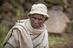 Alter Bauer in der Nähe von Enda Mahoni im äthiopischen Hochland. (Bild: Thomas Imo / Photothek)