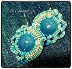 #soutache #resin #piccolidettaglicreazioni #earrings #handmade