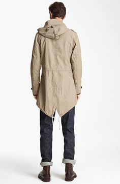 Elongated Khaki Jacket, by Todd Snyder. Men's Spring Summer Fashion.