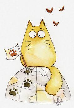 Maria Van Bruggen's cat