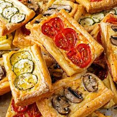 Organic Cheesy Vegetable Pastries - Cheese and vegetables are always a winning combination in our house and with the addition of our beautiful organic pastry this is an incredibly popular treat! Its simple and easy to make packed with nutrition and a great way to get the family into the kitchen helping with chopping up the delicious vegetables. Our favourite vegetables to use are organic tomatoes mushrooms and zucchini however you could use many other vegetables - including asparagus olives…