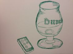 23Sep2014 Duvel wine glass