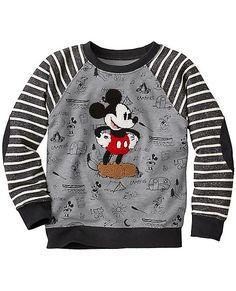 Disney Mickey Mouse Sweatshirt from Hanna Andersson Disney Pajamas, Kids Pajamas, Disney Shirts, Baby Boy Outfits, Kids Outfits, Disney Boys, Disney Mickey, Mickey Mouse Sweatshirt, Baby Boy Swag