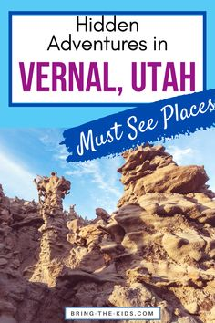 Are you looking for some amazing Utah adventures that are off the beaten path?  Head to Vernal Utah to avoid the crowds with lots of access to mountain biking, hiking, mountains, lakes, and rivers, WITHOUT the crowds that most Utah destinations get.  These hidden adventures in Vernal Utah will surprise you and have you wondering why you didn't visit sooner! #visitutah #offthebeatenpath #undiscovered Zion Utah, Moab Utah, Vernal Utah, Lehi Utah, Utah Vacation, Utah Camping, Visit Utah, Utah Adventures, Family Adventure