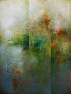 Zen Garden - Cody Hooper - acrylic on panel #FusionBeadsColorOfTheMonthChallenge