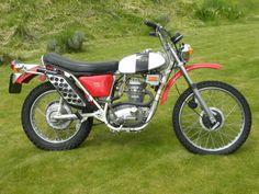 1971 BSA B25 Victor Trail 2