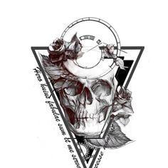 Hip - Dark - Sketch Tattoo Design Needed! Design por Idet87
