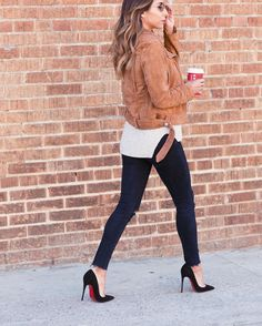 gingerbread latte on repeat also on repeat is this @azaleasf motto jacket that goes with everything! deets: http://liketk.it/2pO0a @liketoknow.it #liketkit