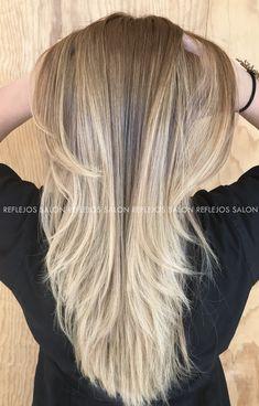 Balayage en tono arena 😍 #Balayage #Ombre #HairSalon #ReflejosBeautySalon #BalayageLook  HAZ TU CITA  Tel: 2516-1419 Whatsapp: 9783-0239 San Pedro Sula, Plaza Primera Calle, 1ra calle 6 y 7 Ave. Bo. Guamilito, contiguo a Pizzeria Italia San Pedro Sula, Plaza, Long Hair Styles, Beauty, Quote, Street, Italia, Long Hairstyle, Long Haircuts