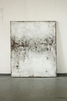 CHRISTIAN HETZEL: crusted 2015 - 110 x 90 cm - Mischtechnik auf Leinwand, a