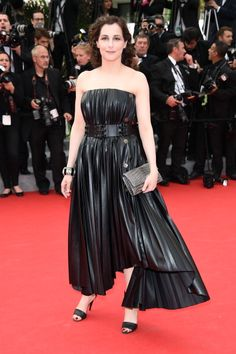 Fabulously Spotted: Amira Casar Wearing Lanvin - 'The Search' 2014 Cannes Film Festival Premiere  - http://www.becauseiamfabulous.com/2014/05/amira-casar-wearing-lanvin-the-search-2014-cannes-film-festival-premiere/