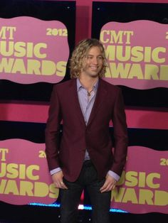 Loving the colors Casey James is rockin' on the red carpet! #CMTawards #CaseyJames #AmericanIdol