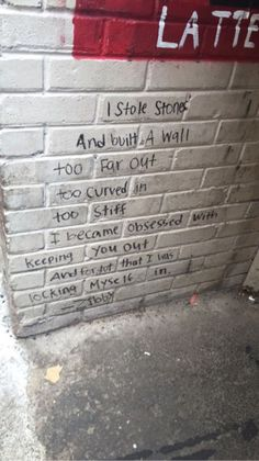 poem quotes word on the street - quotes Poem Quotes, Sad Quotes, Words Quotes, Life Quotes, Inspirational Quotes, Sayings, Qoutes, The Words, Graffiti Quotes