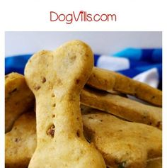 Homemade Chicken and Liver Dog Cookies - DogVills