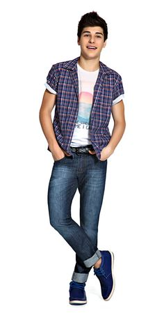 M2A Jeans | Spring Summer 2014 | Teen Boy Lookbook | Pimavera Verão 2014 • calça; jeans; camiseta; camisa; xadrez.