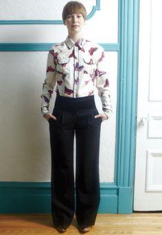 #Mode: Comment porter le chemisier-pyjama?