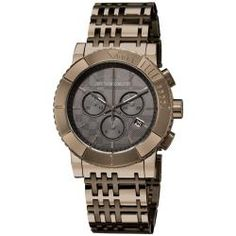 if i had 600 bucks to spend on one person this is what id buy him lol burberry men's watch (my taste in watches)