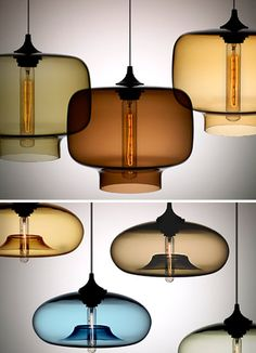 Niche Modern pendants. These would be great as bedside lights