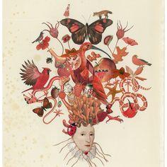 Browse unique items from BeetleBlossom on Etsy, a global marketplace of handmade, vintage and creative goods. Paper Collage Art, 2d Art, Photomontage, Medium Art, Art Inspo, Flower Art, Art Photography, Clip Art, Art Prints