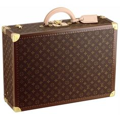 Louis Vuitton Bisten 55 monogram canvas suitcase, $5,600 louisvuitton.com