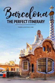 barcelona travel guide itinerary