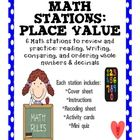 Math Stations: Place Value This is a resource that can be used for students to practice and review whole number and decimal place value. This re...