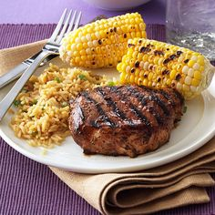 Favorite Grilled Pork Chops Recipe -I start preparing this entree the night before I plan to grill it. It's a fabulous marinade with a unique flavor, and is of the only ways our family eats pork chops. —Erica Svejda, Janesville, Wisconsin
