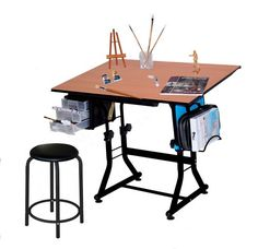Martin Ashley Art-Hobby Table with Stool, Black with Cherry Top, 23-1/2-Inch by 36-Inch Size Surface Martin http://www.amazon.com/dp/B004CCROO2/ref=cm_sw_r_pi_dp_bpuXub0WMBPTK